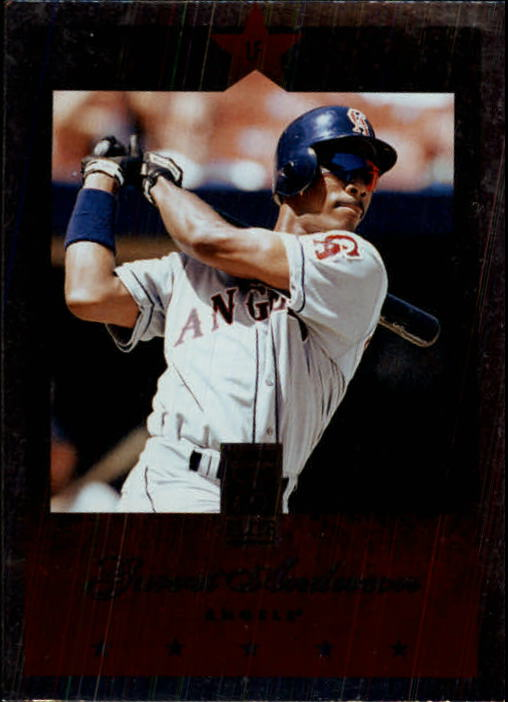 1997 Donruss Elite #55 Garret Anderson