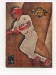 1997 Donruss Elite Leather and Lumber #5 Ivan Rodriguez