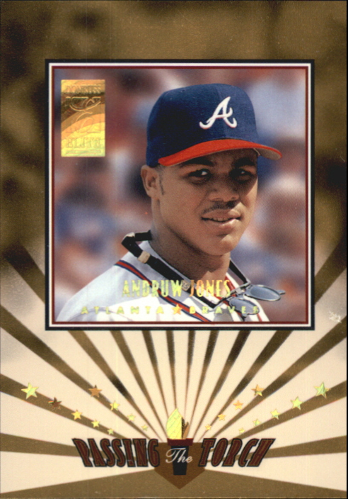 1997 Donruss Elite Passing the Torch #5 Andruw Jones