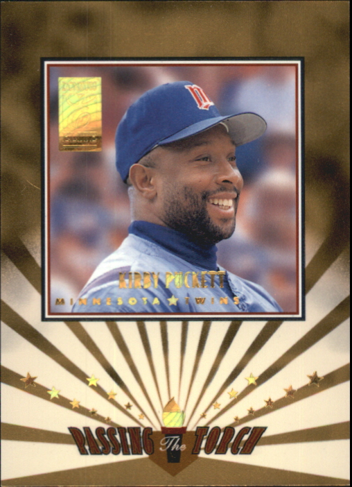 1997 Donruss Elite Passing the Torch #6 K.Puckett/A.Jones
