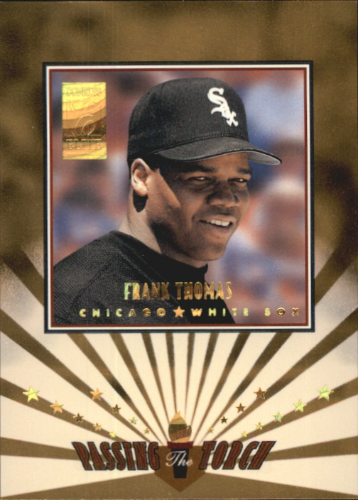 1997 Donruss Elite Passing the Torch #8 Frank Thomas