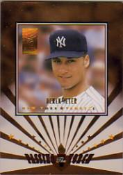 1997 Donruss Elite Passing the Torch #11 Derek Jeter