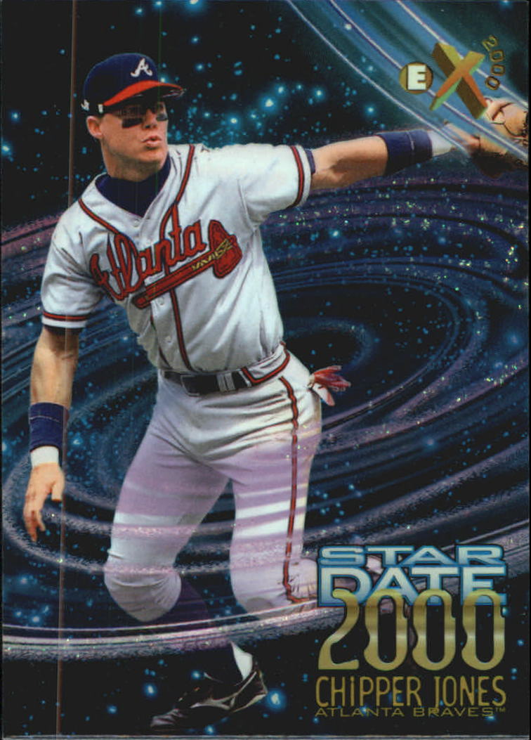1997 E-X2000 Star Date 2000 #5 Chipper Jones