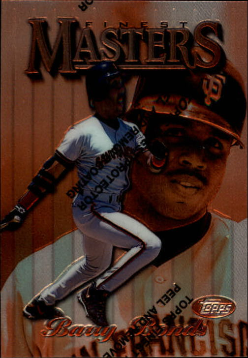 1997 Finest #1 Barry Bonds B
