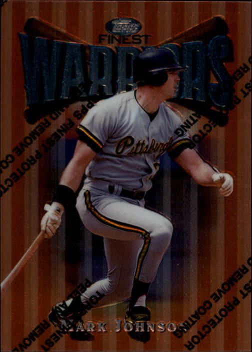1997 Finest #9 Mark Johnson B