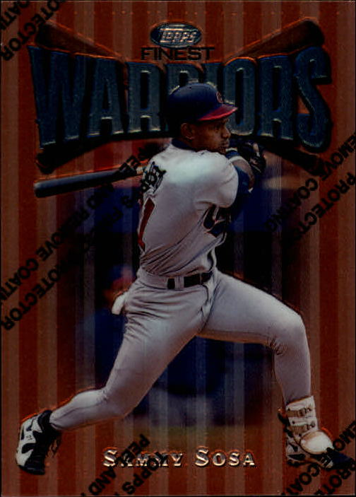 1997 Finest #20 Sammy Sosa B
