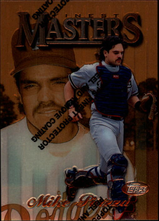 1997 Finest #50 Mike Piazza B