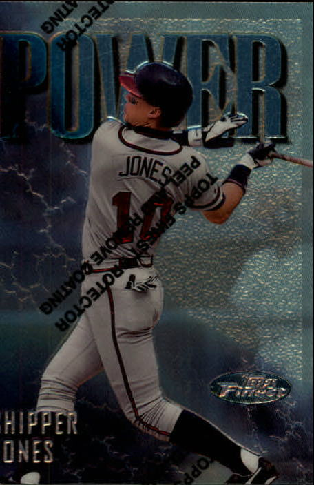 1997 Finest #108 Chipper Jones S