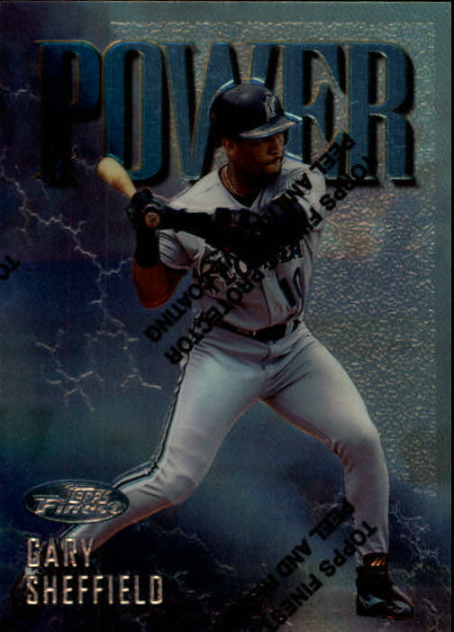 1997 Finest #109 Gary Sheffield S