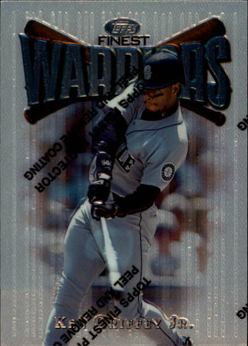 1997 Finest #139 Ken Griffey Jr. S