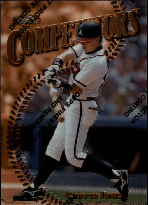 1997 Finest #273 Chipper Jones B