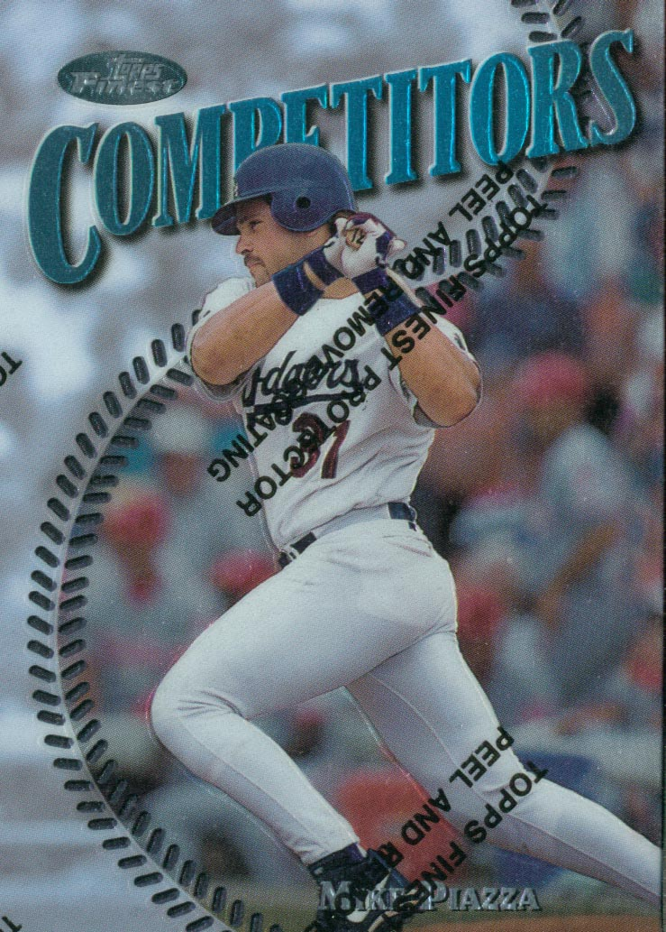 1997 Finest #292 Mike Piazza S