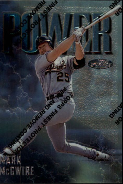 1997 Finest #305 Mark McGwire S
