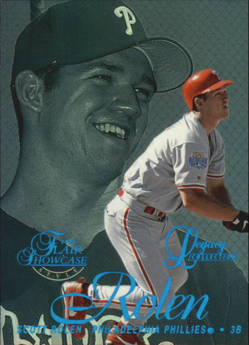 1997 Flair Showcase Legacy Collection Row 2 #6 Scott Rolen