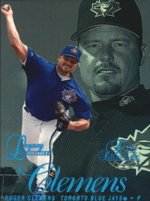 1997 Flair Showcase Legacy Collection Row 2 #21 Roger Clemens