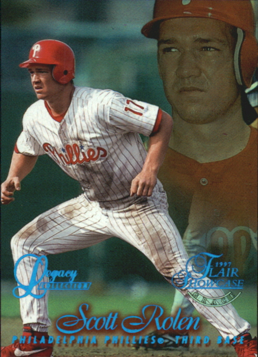 1997 Flair Showcase Legacy Collection Row 1 #6 Scott Rolen