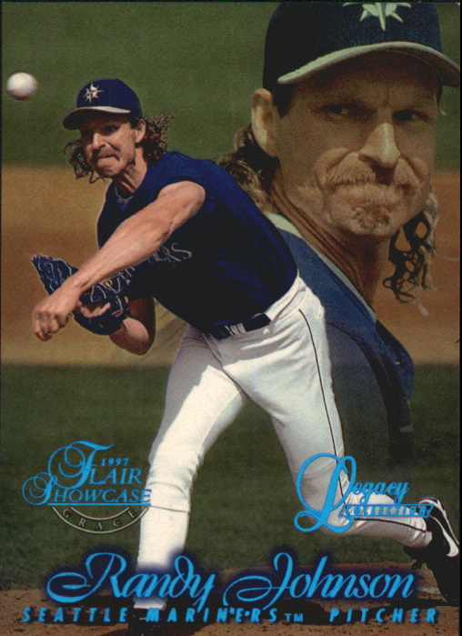 1997 Flair Showcase Legacy Collection Row 1 #20 Randy Johnson