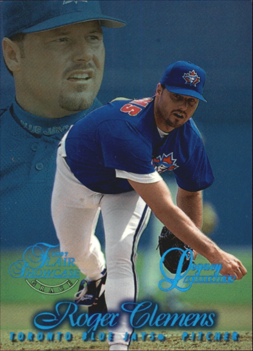 1997 Flair Showcase Legacy Collection Row 1 #21 Roger Clemens