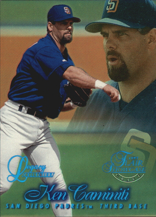 1997 Flair Showcase Legacy Collection Row 1 #40 Ken Caminiti