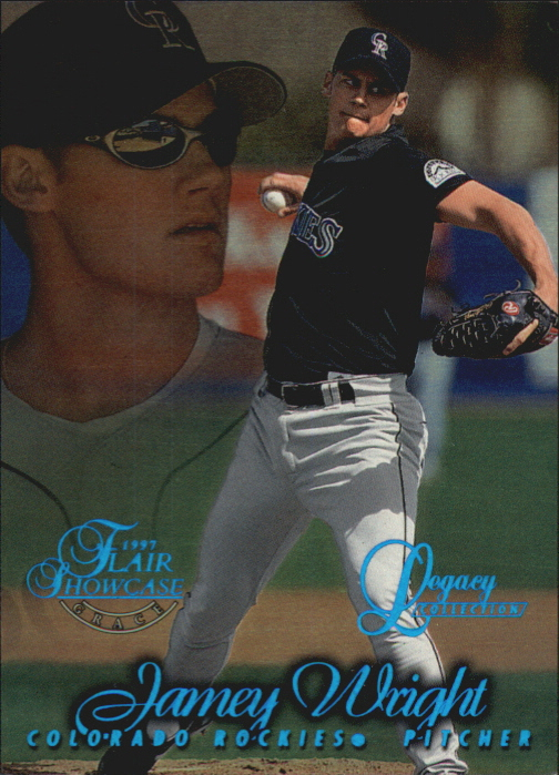1997 Flair Showcase Legacy Collection Row 1 #49 Jamey Wright