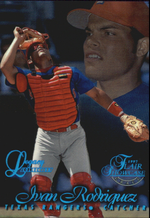 1997 Flair Showcase Legacy Collection Row 1 #57 Ivan Rodriguez