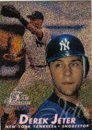 1997 Flair Showcase Legacy Collection Row 0 #2 Derek Jeter