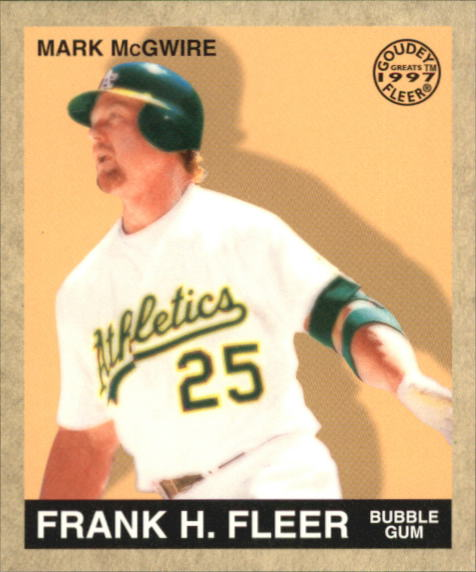 1997 Fleer Goudey Greats #8 Mark McGwire