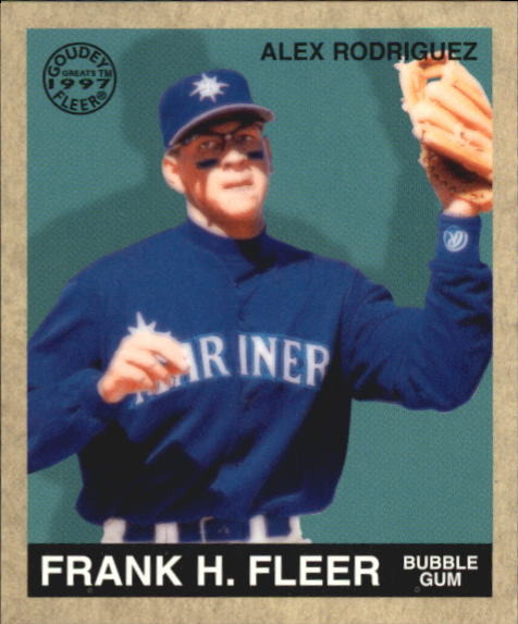 1997 Fleer Goudey Greats #12 Alex Rodriguez