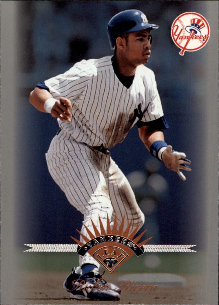1997 Leaf #30 Ruben Rivera