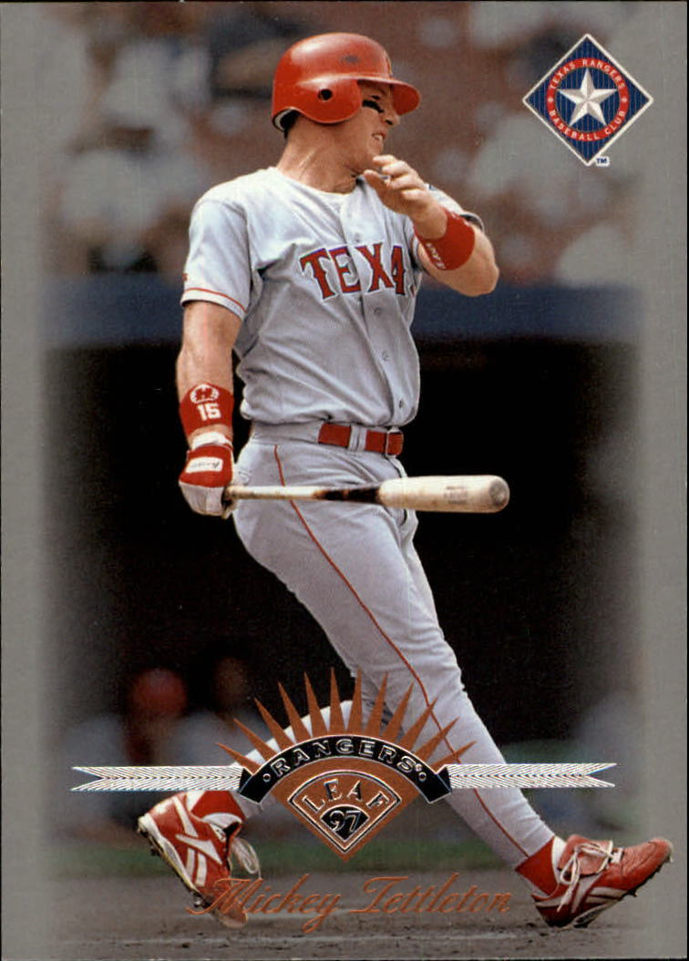 1997 Leaf #62 Mickey Tettleton