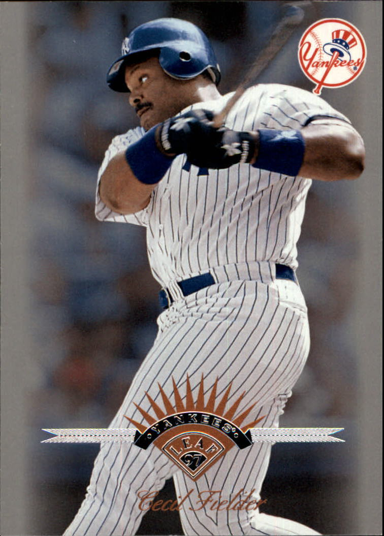 1997 Leaf #64 Cecil Fielder
