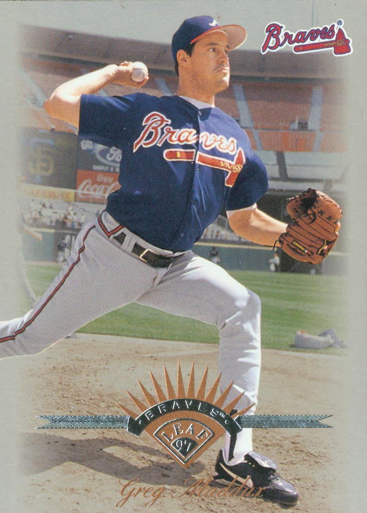 1997 Leaf #85 Greg Maddux