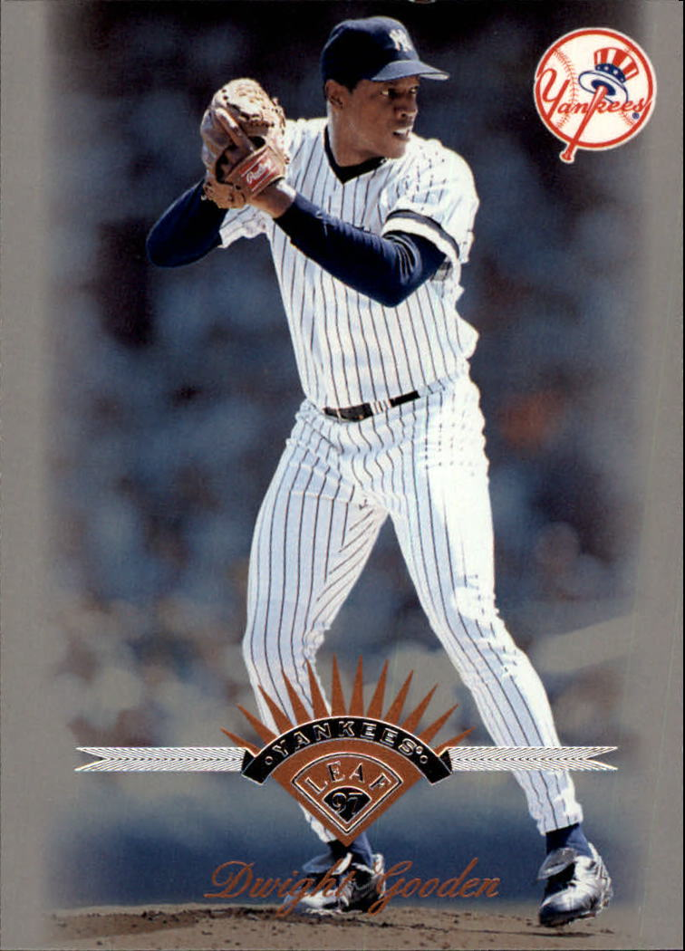 1997 Leaf #98 Dwight Gooden