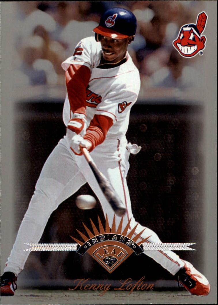1997 Leaf #110 Kenny Lofton
