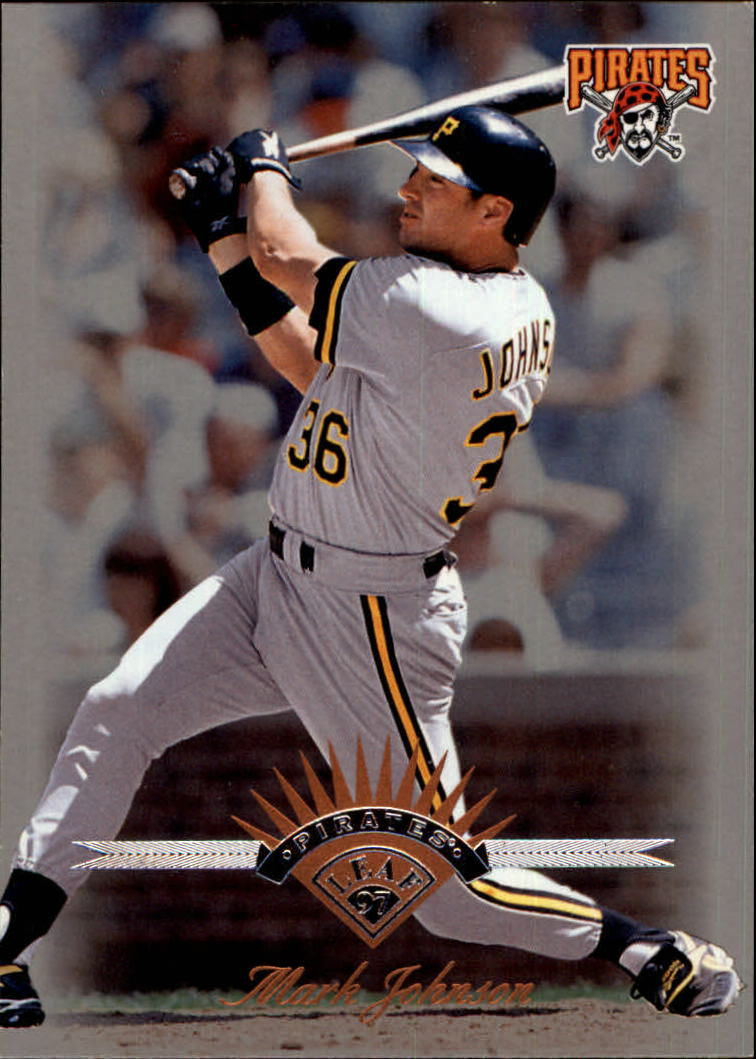 1997 Leaf #119 Mark Johnson