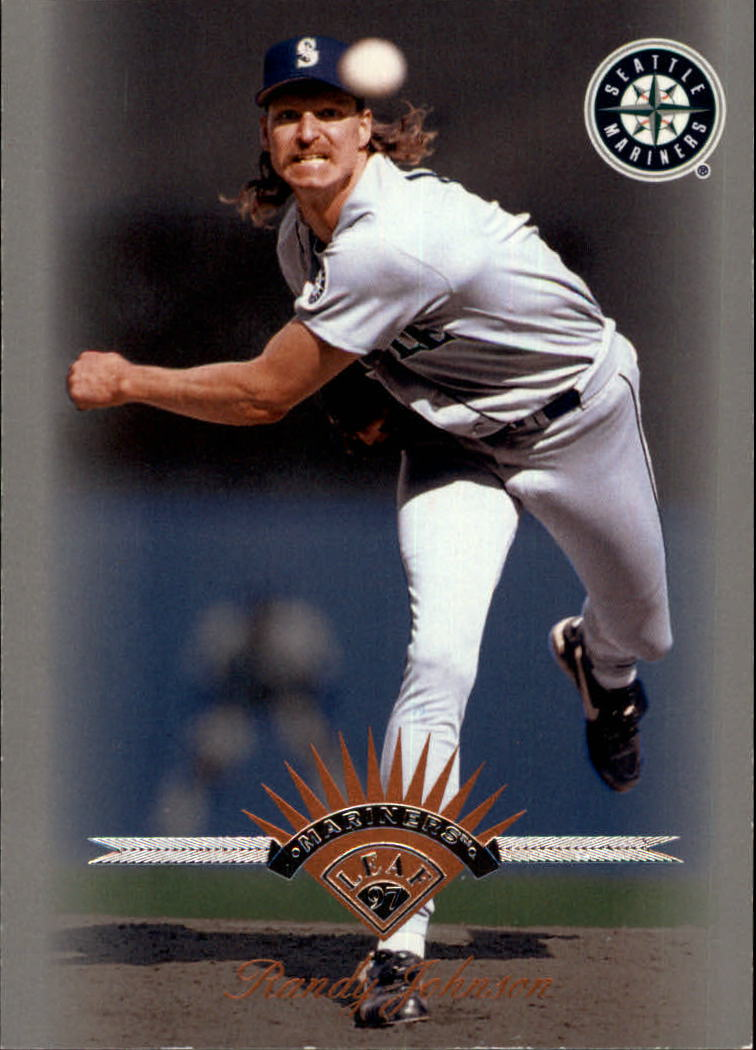 1997 Leaf #132 Randy Johnson