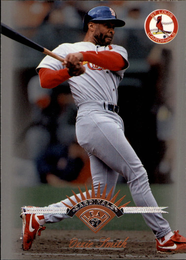 1997 Leaf #152 Ozzie Smith