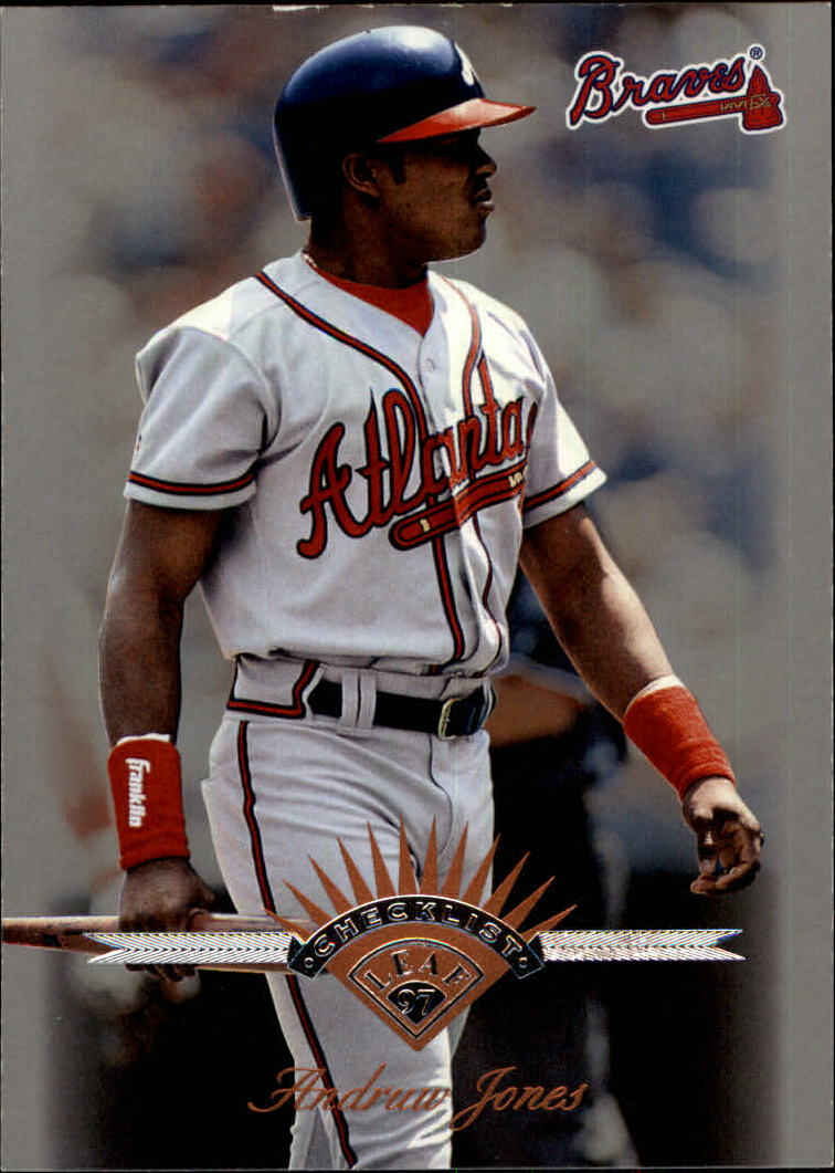 1997 Leaf #199 Andruw Jones CL