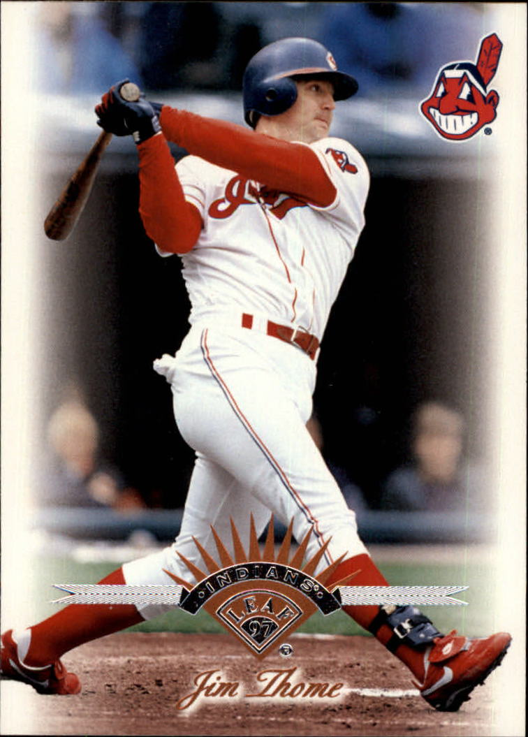 1997 Leaf #223 Jim Thome