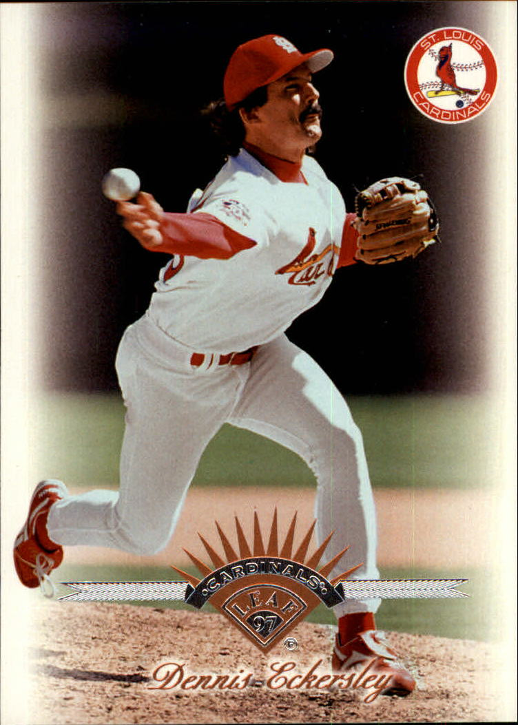 1997 Leaf #288 Dennis Eckersley