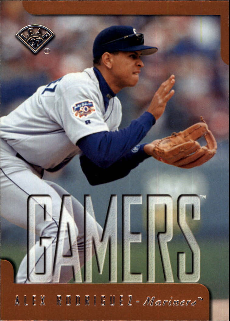 1997 Leaf #368 Alex Rodriguez GM