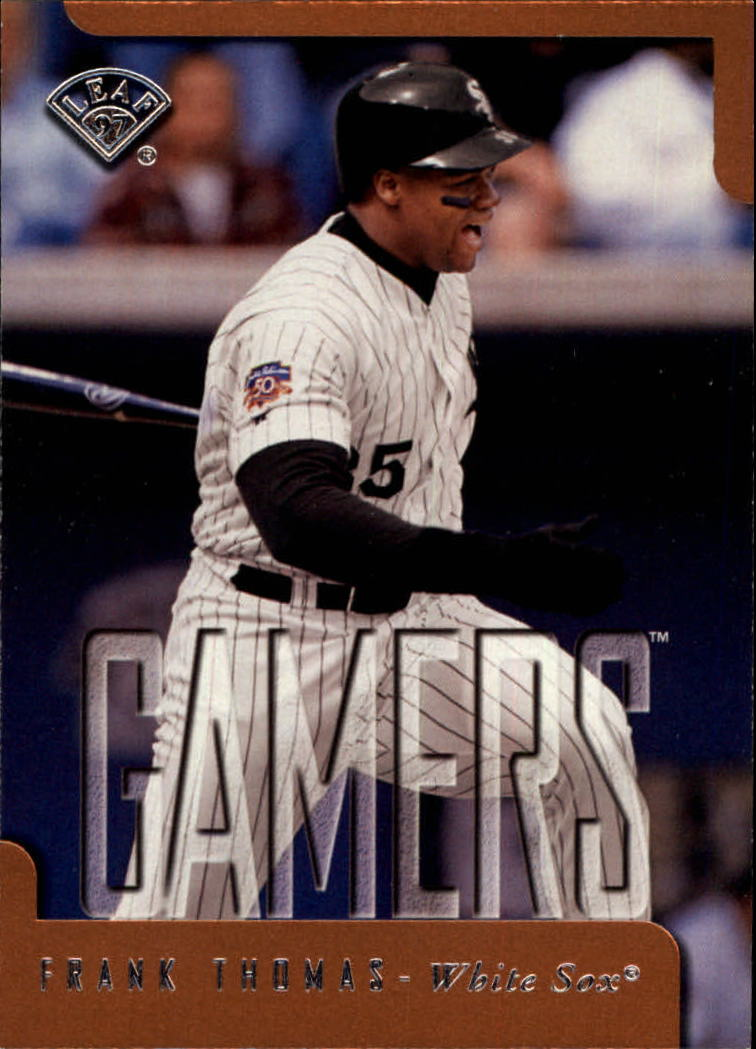 1997 Leaf #369 Frank Thomas GM