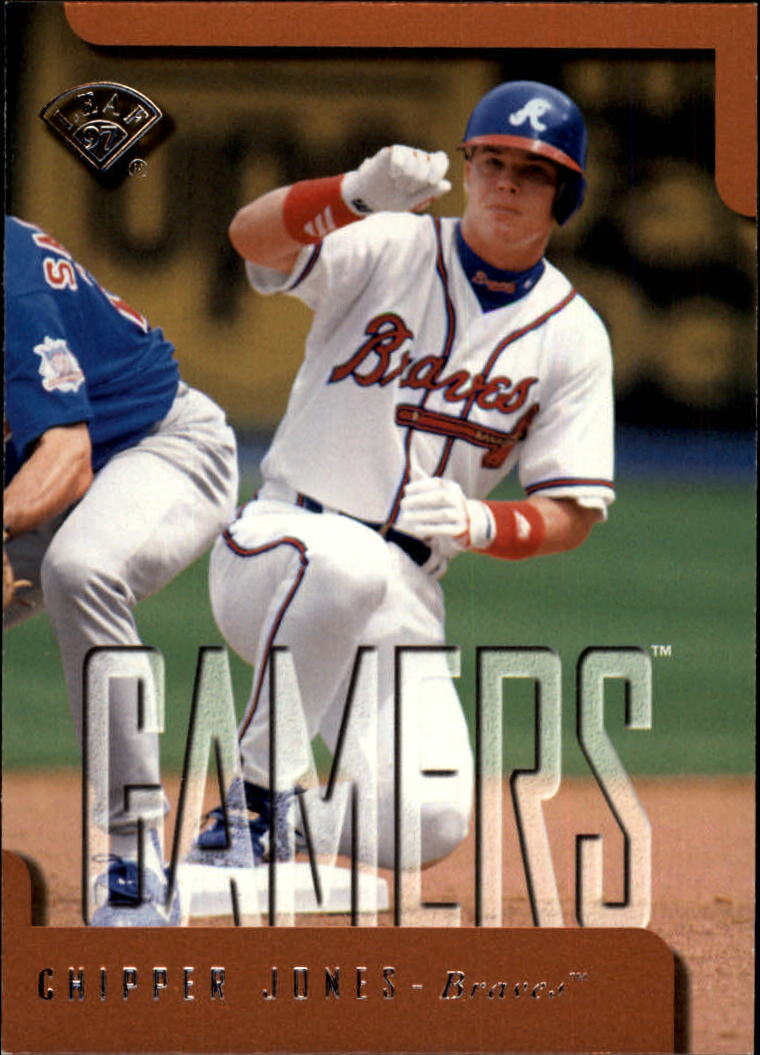 1997 Leaf #374 Chipper Jones GM