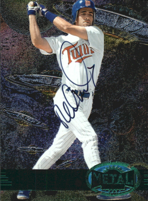 1997 Metal Universe Emerald Autographs #AU6 Todd Walker