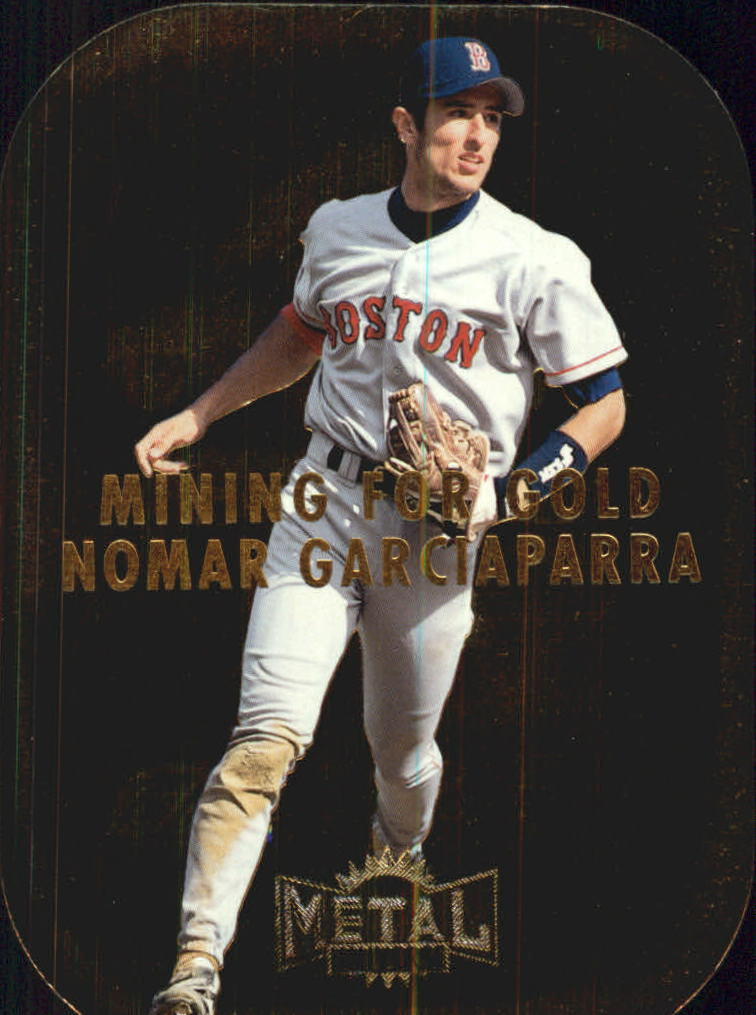 1997 Metal Universe Mining for Gold #3 Nomar Garciaparra