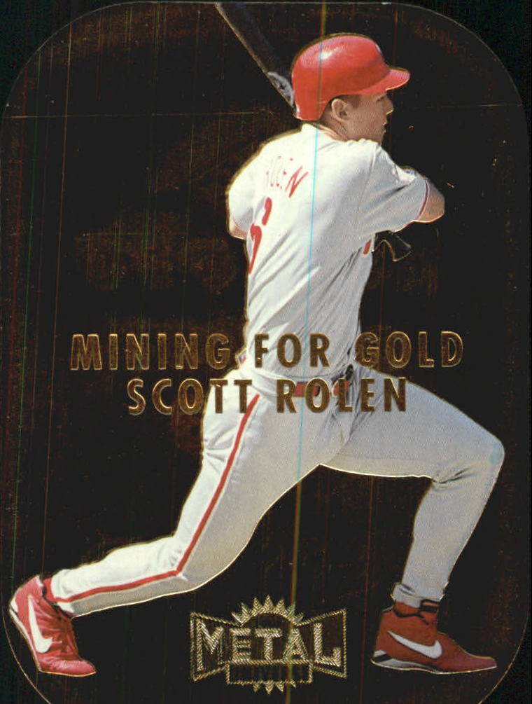 1997 Metal Universe Mining for Gold #9 Scott Rolen