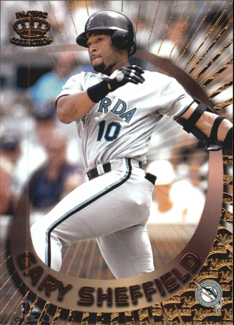 1997 Pacific Card-Supials #27 Gary Sheffield