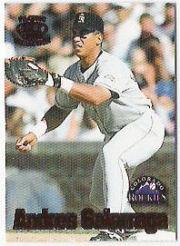 1997 Pacific Card-Supials Minis #26 Andres Galarraga