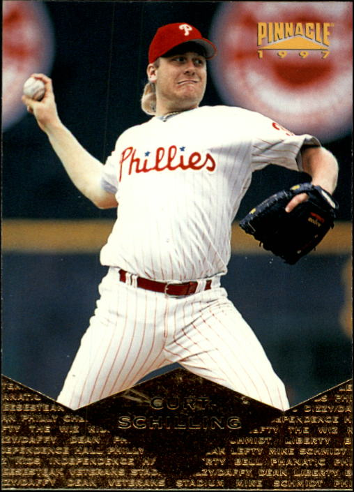 1997 Pinnacle #9 Curt Schilling