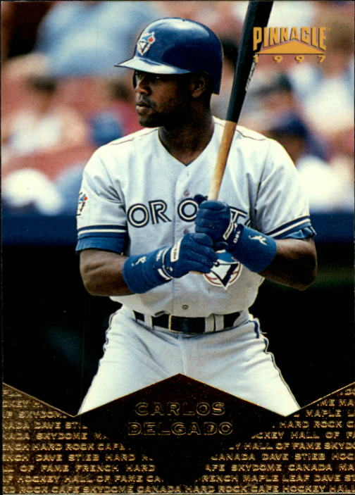 1997 Pinnacle #32 Carlos Delgado